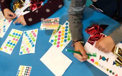 Atelier Enfant Cartes Noël