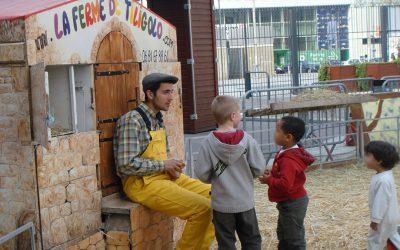 Atelier Enfant Ferme Pédagogique