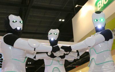 Échassiers Robots