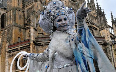 Échassier La Reine des Neiges