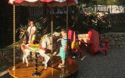 Location Manège Écologique Mini Carrousel