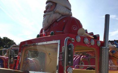 Manège Le Petit Train de Noël